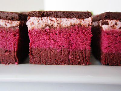 These Raw Strawberry Beet Love Brownies are as charming in looks as they are in flavor.