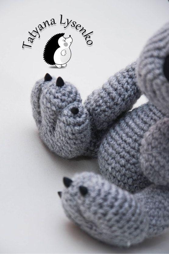CROCHET RATTERN Wolf amigurumi   Crochet&Knitted Items   Pinterest ...