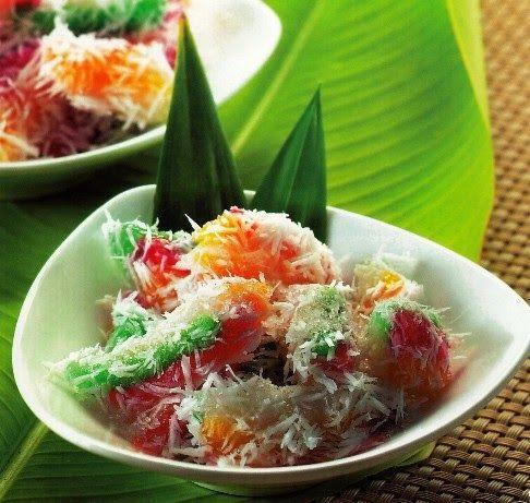 Bahan Resep Cenil Singkong Kuah Gula Merah Dan Kelapa Parut Ala Jajanan Pasar Masakan Indonesia Resep Resep Masakan Indonesia