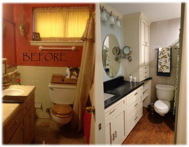 Small Bathroom Tiny Bathroom Updated To Feel Larger And Fresher Cool Updated Bathrooms Designs