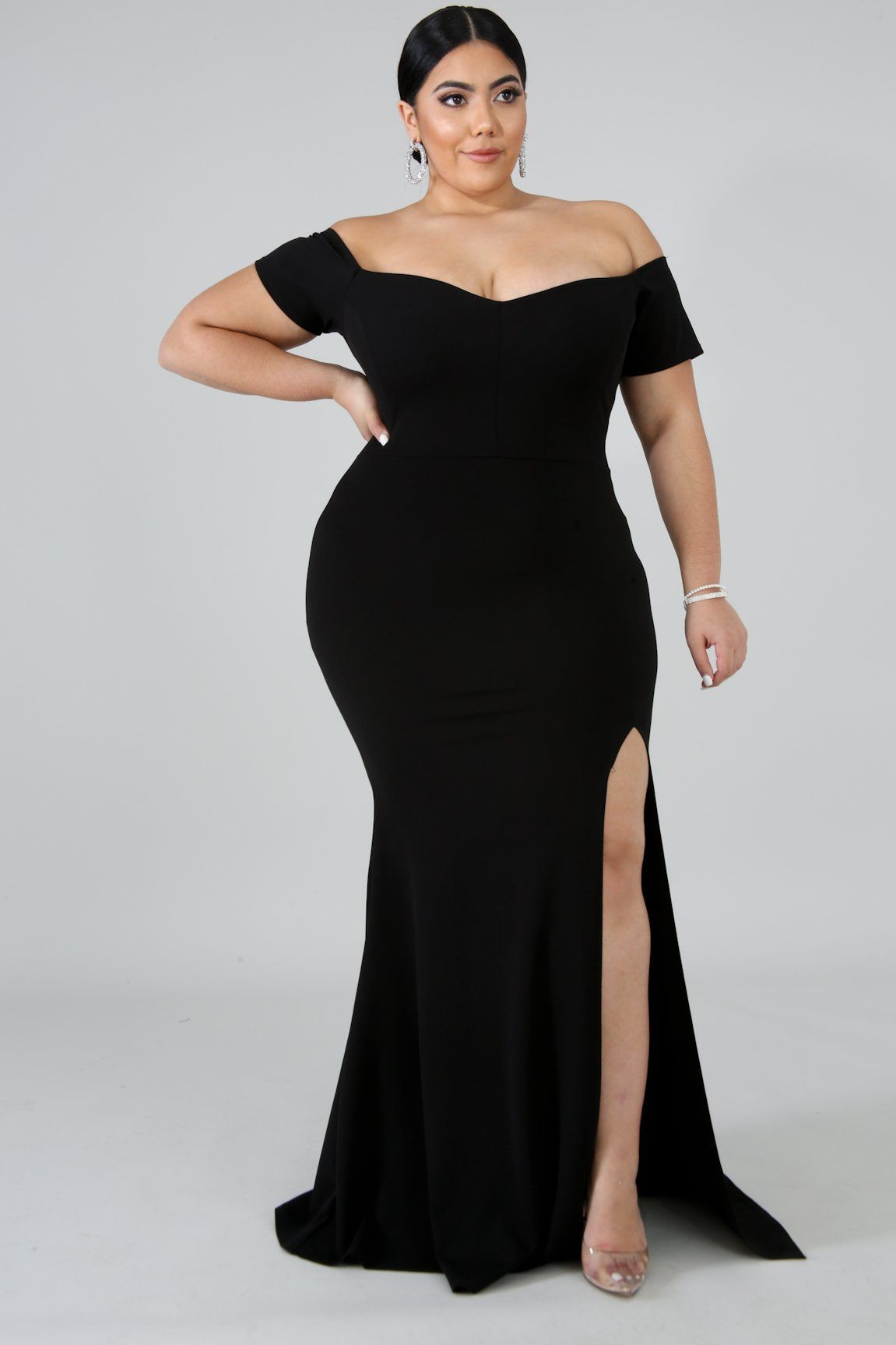 Mermaid Plus Size Dresses
