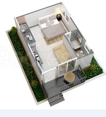Image Result For 250 Square Feet House Apartment Floor Plan