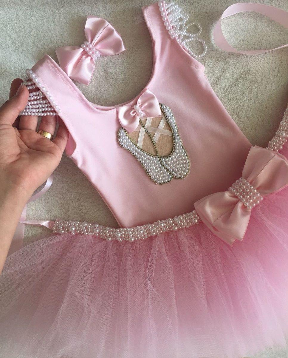 8571693028 Fantasia de bailarina rosa no Elo7