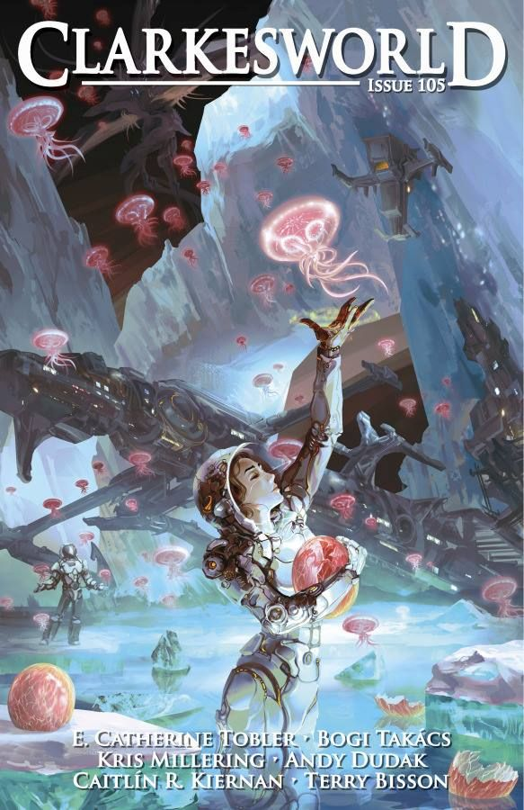 Cover for Clarkesworld Magazine Issue 105, June 2015 Spring Day is Coming by Liu Junwei
