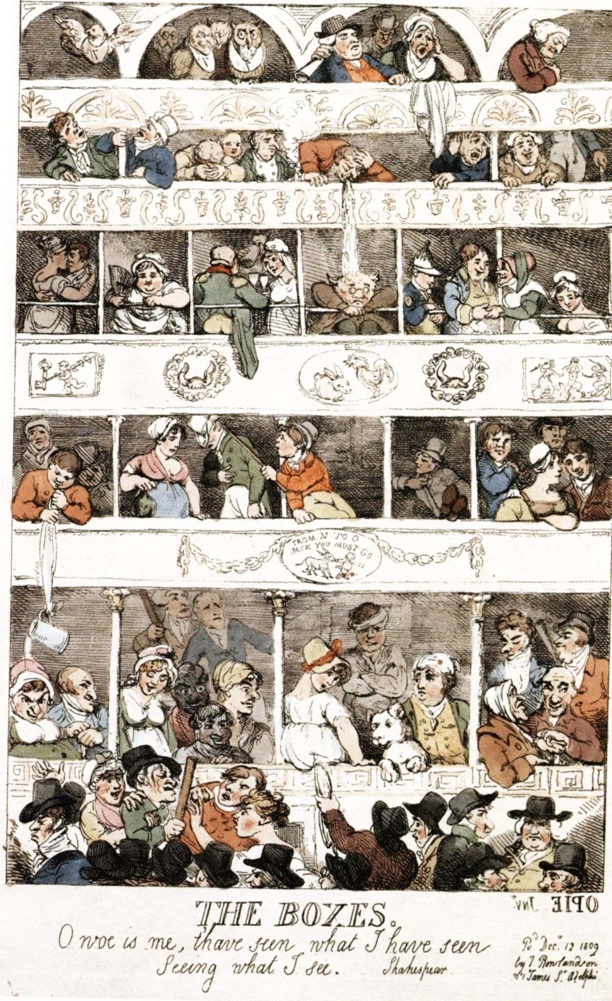 A Sort Blog Post About Lateeighteenth Century Satirical Painter Thomas  Rowlandson Pictured Here
