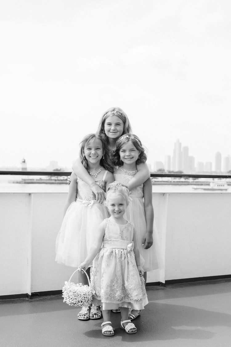 Intimate Boat Wedding // Chicago, IL // Perregeaux Wedding Photography