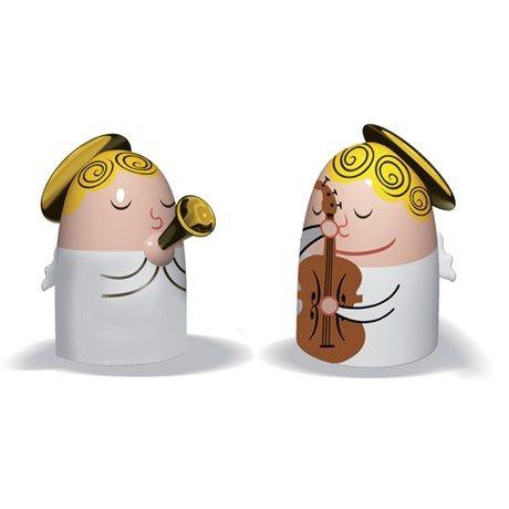 Alessi juledekorasjon - Angels Band, Sett 1