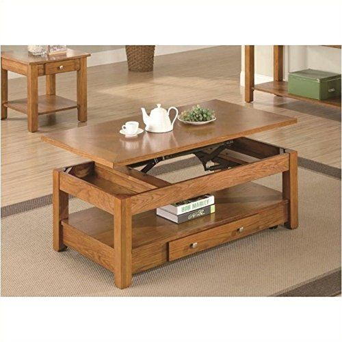 Coaster Occasional Group Collection 701438 48 Coffee Table with Lift