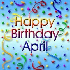Happy Birthday April Happy Birthday Mary Happy Birthday Sheila
