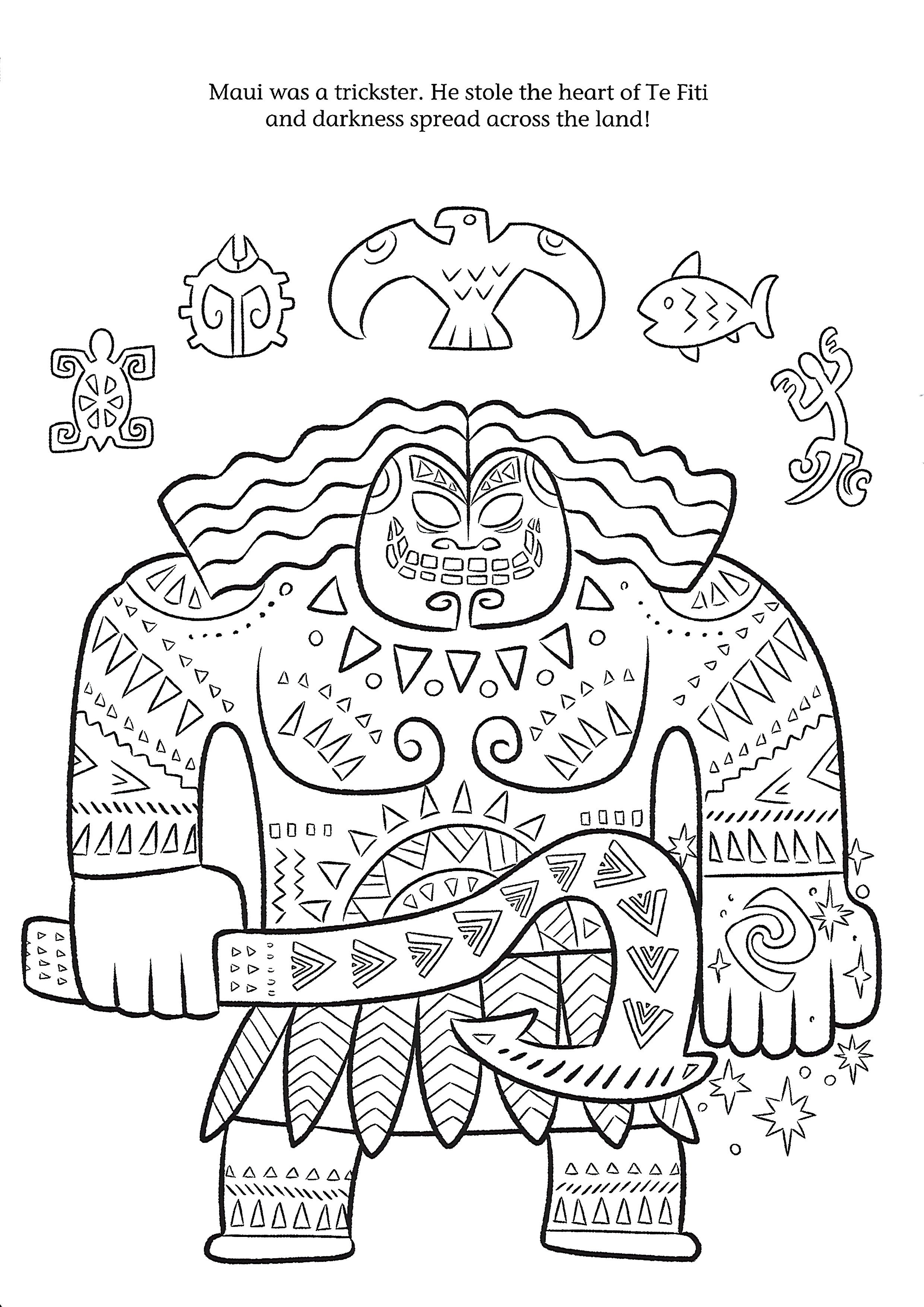 Moana Coloring Page Moana Coloring Moana Coloring Pages Colouring Pages [ 3508 x 2480 Pixel ]