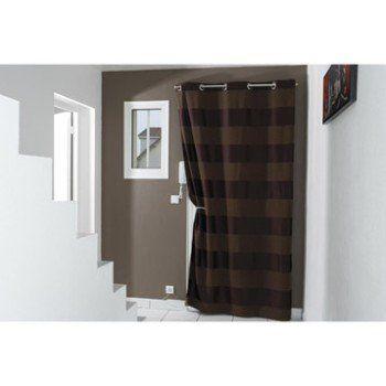 Barre De Rideau Pour Porte kit de tringle à rideau métal ib+ | leroy merlin | rideaux | pinterest