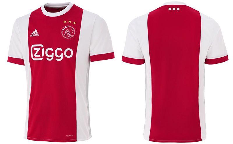 6d4d300c37 Camisas do Ajax 2017-2018 Adidas