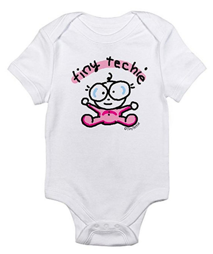 tiny techie onesie