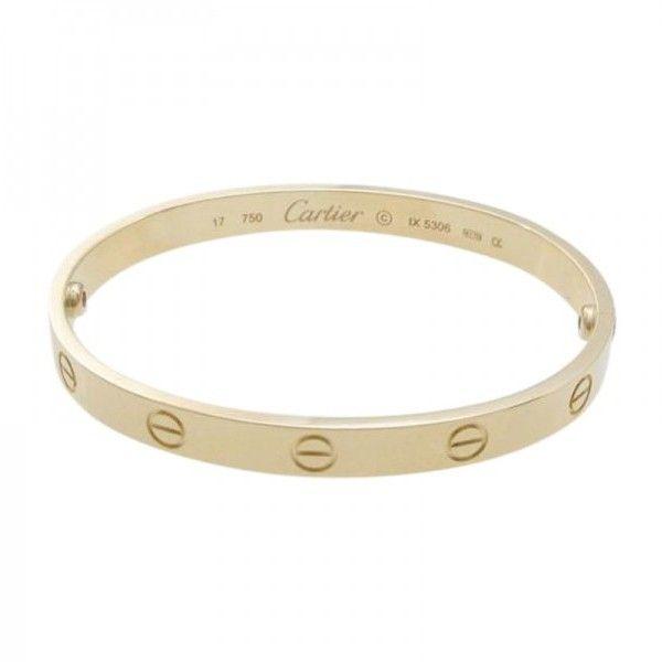 Pre Owned Cartier 18k Pink Gold Love Bracelet Size 16 5cm 9 820 Cad