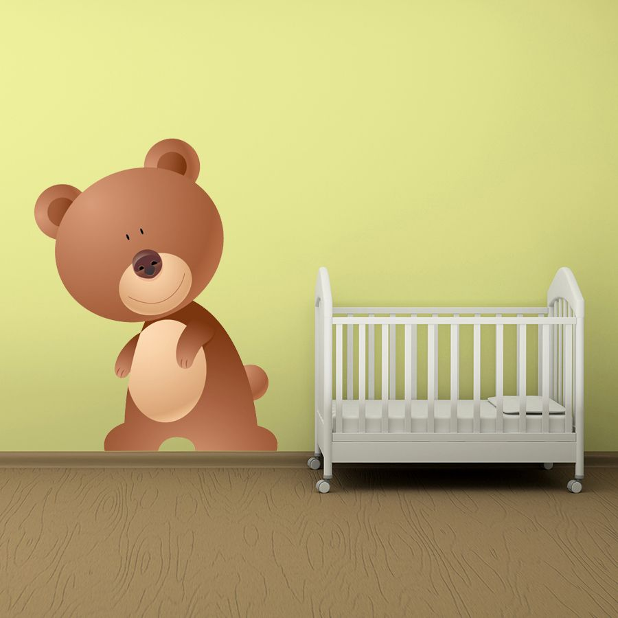 Imagine how cute this Standing Bear Digital Wall Sticker will look ...