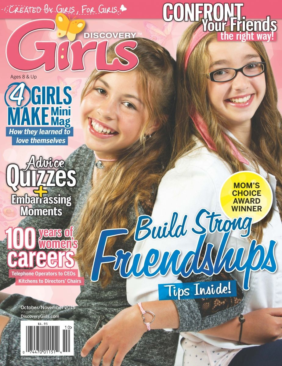Discovery Girls Magazine Great idea for Christmas | Missy | Pinterest