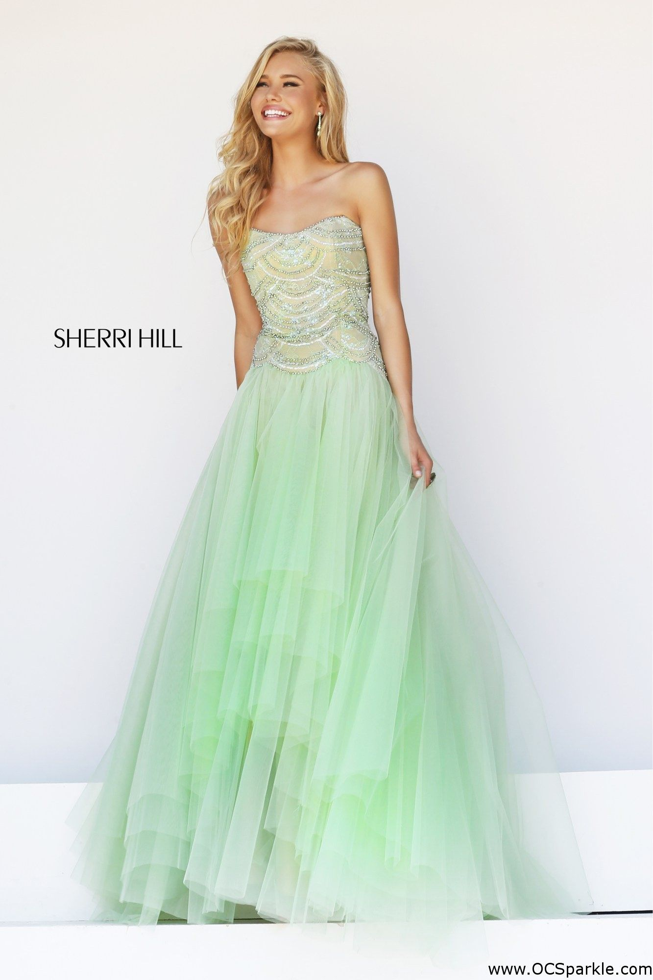 Sherri Hill 11082 prom dress for the low price of 550.00. All Sherri Hill dresses are brand new with tags and labels attached on every 11082!