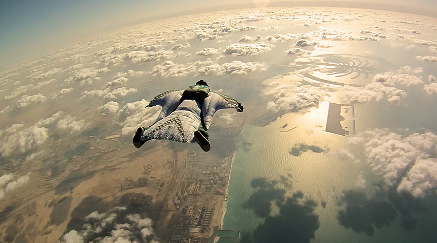 It's A Bird, It's A Plane—It's A Guy In A Wing Suit