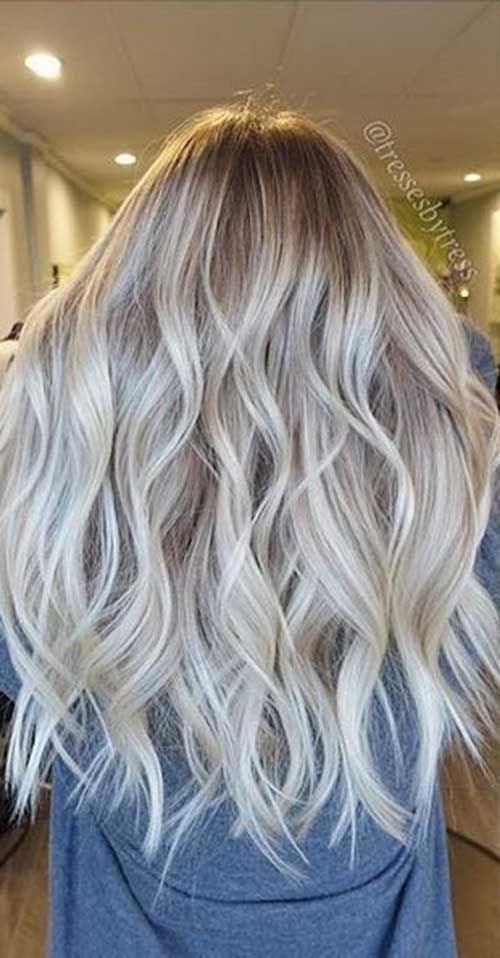 15 Long Blonde Hair Color Ideas For Stylish Ladies Hair Coloring
