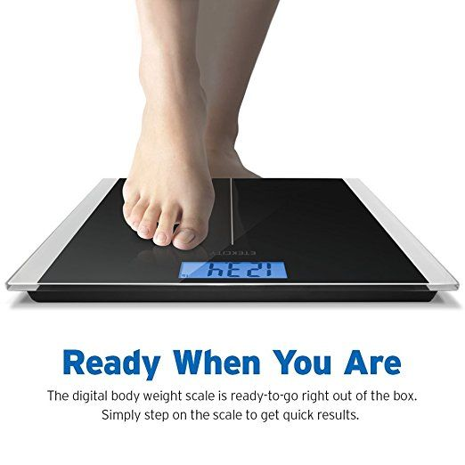weighing scale made by etekcity black