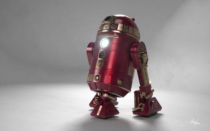 Iron Man   R2D2.