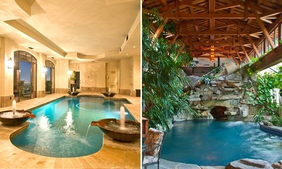 Where the water\'s always great: 13 homes with indoor pools (© High ...
