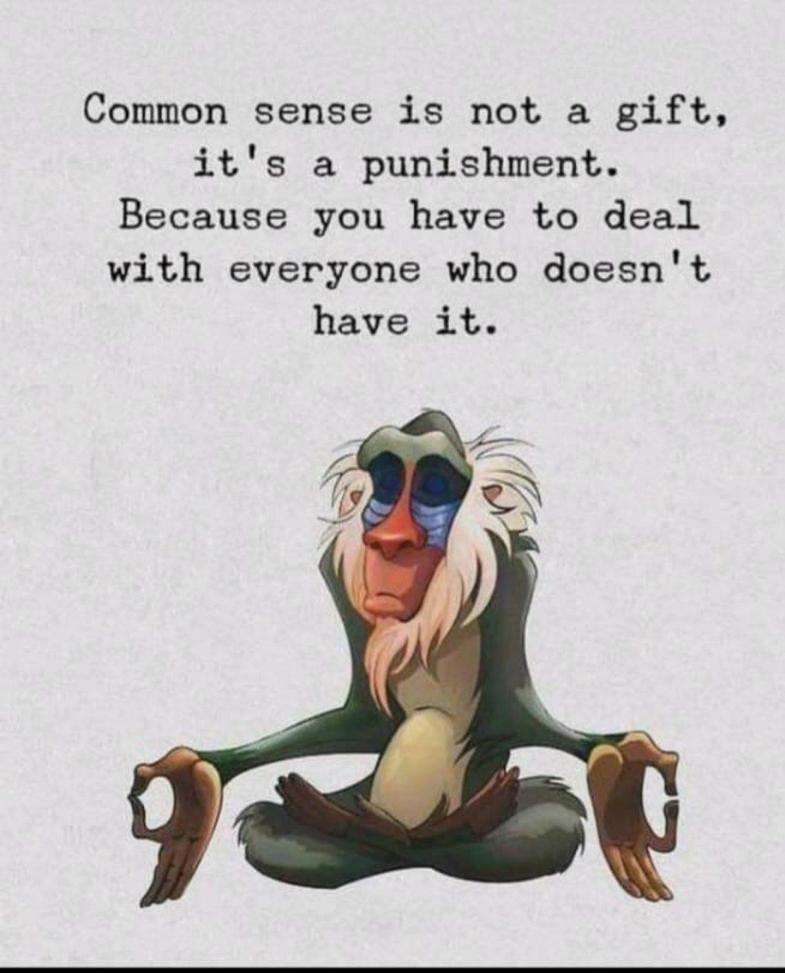 Sometimes We Calm Yogis Can Get Frustrated Too Simple Holistic Yoga Inspirational Quotes Disney Sarcastic Quotes Funny Common Sense Quotes