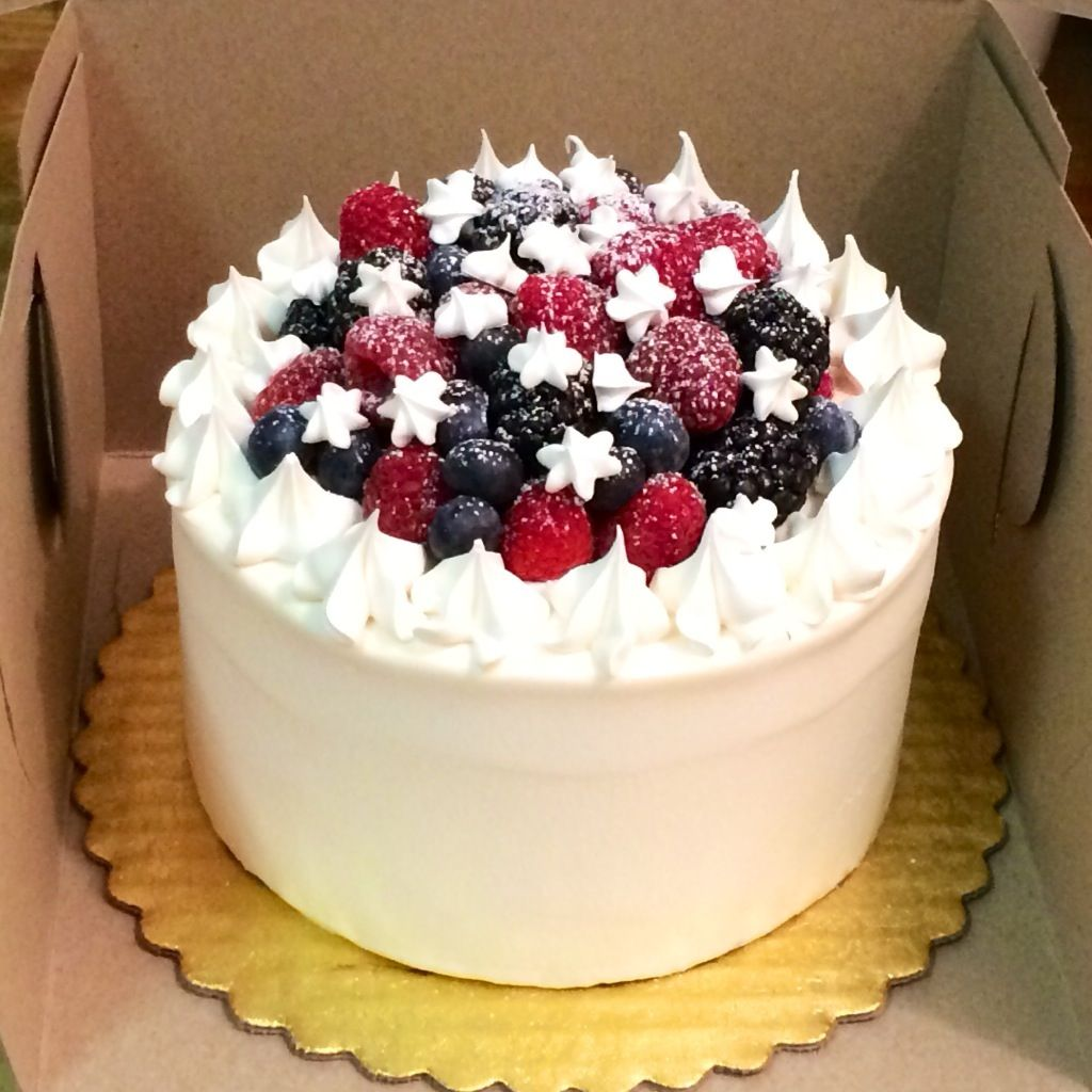 Mixed Berry Cake by Gigi Blue. A variation on my ...