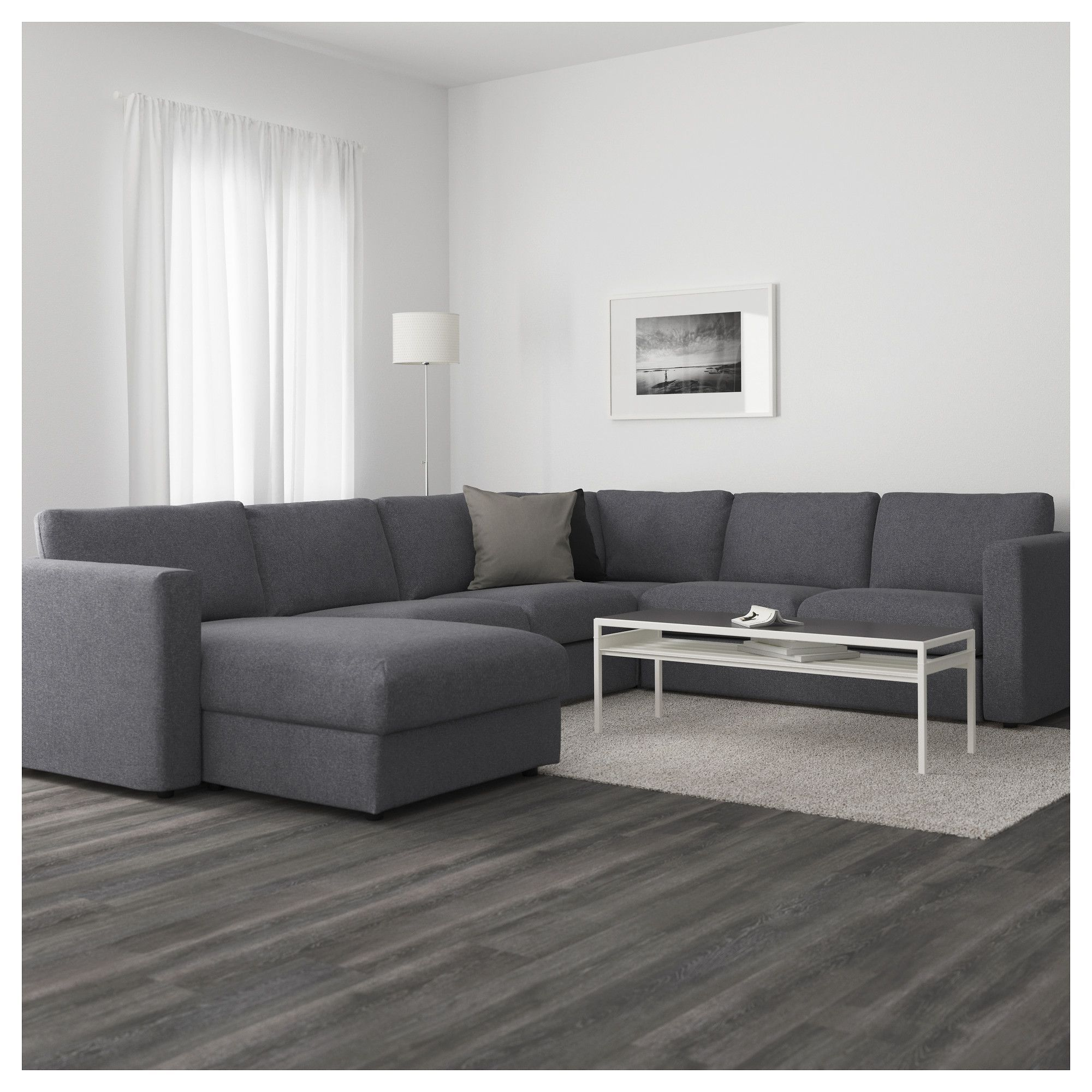 IKEA VIMLE Sectional, 5seat corner with chaise