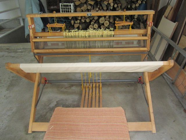 My Lillstina Swedish Floor Loom restored!   Weaving Rules ...