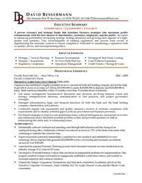 Executive  C Level Executive Resume Example  Resume