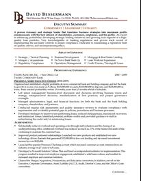 executive c level executive resume example resume pinterest