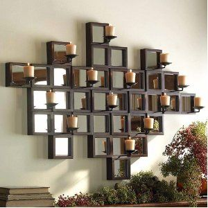 the bombay company store illuminaire candle sconce - Candle Wall Decor