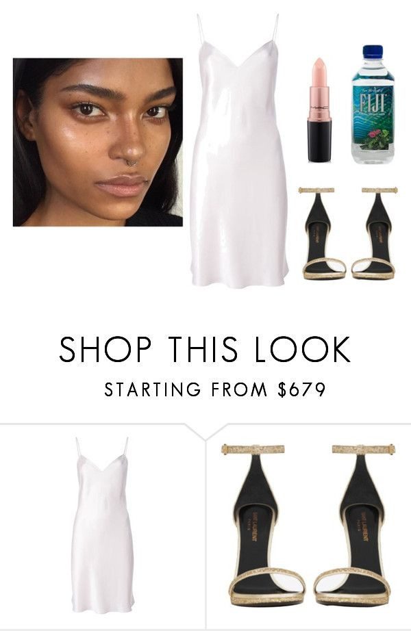 """""""Untitled #900"""" by antonela-475 on Polyvore featuring Yves Saint Laurent and MAC Cosmetics"""