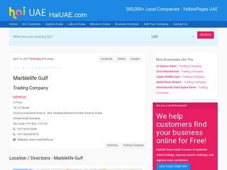 Marblelife Gulf Trading Company 18, 25 Street G Floor Al Quoz