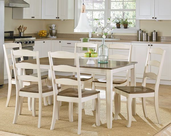 7 Piece Dinette Set From Standard Furniture Companyavailable In Simple 2 Piece Dining Room Set Design Inspiration