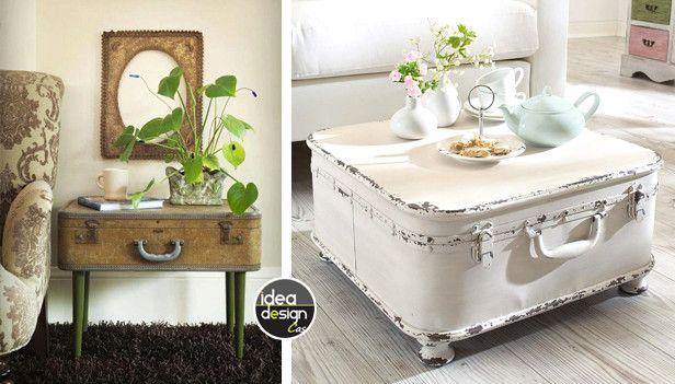 Riciclo mobili ~ Riciclare vecchie valigie: 23 idee per un riciclo creativo!