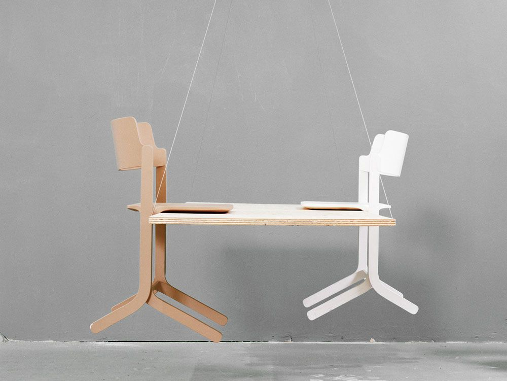 Introducing the Hay Ru Chair, a fusion of craftsmanship, industrial ...