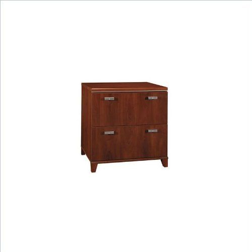Bush Furniture Tuxedo 2 Drawer Lateral Wood File Storage Cabinet in Hansen Cherry by Bush. $209.98. With so much suave style, it's no wonder we call this collection the Tuxedo Collection. The Bush Tuxedo Lateral File Cabinet is a bold complement to any high-powered office, featuring a naturalistic, appealingly simple design in a rich Hansen Cherry finish. This filing cabinet matches the height of the Bush Tuxedo Desk to create additional workspace. Features: Both drawers hold ...