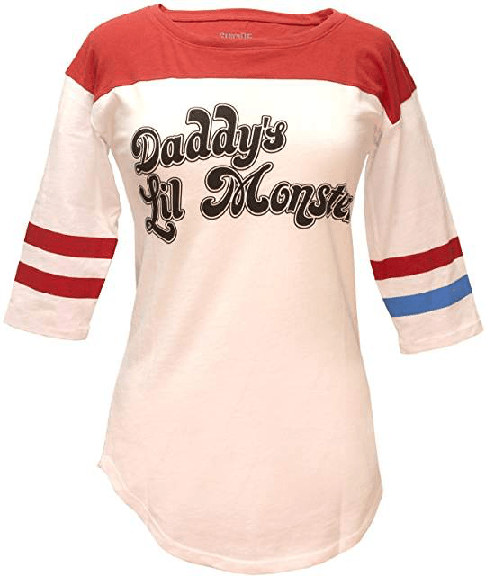 Suicide Squad Official Licensed Merchandise Harley Quinn Unisex Long Sleeve T-Shirt Tee