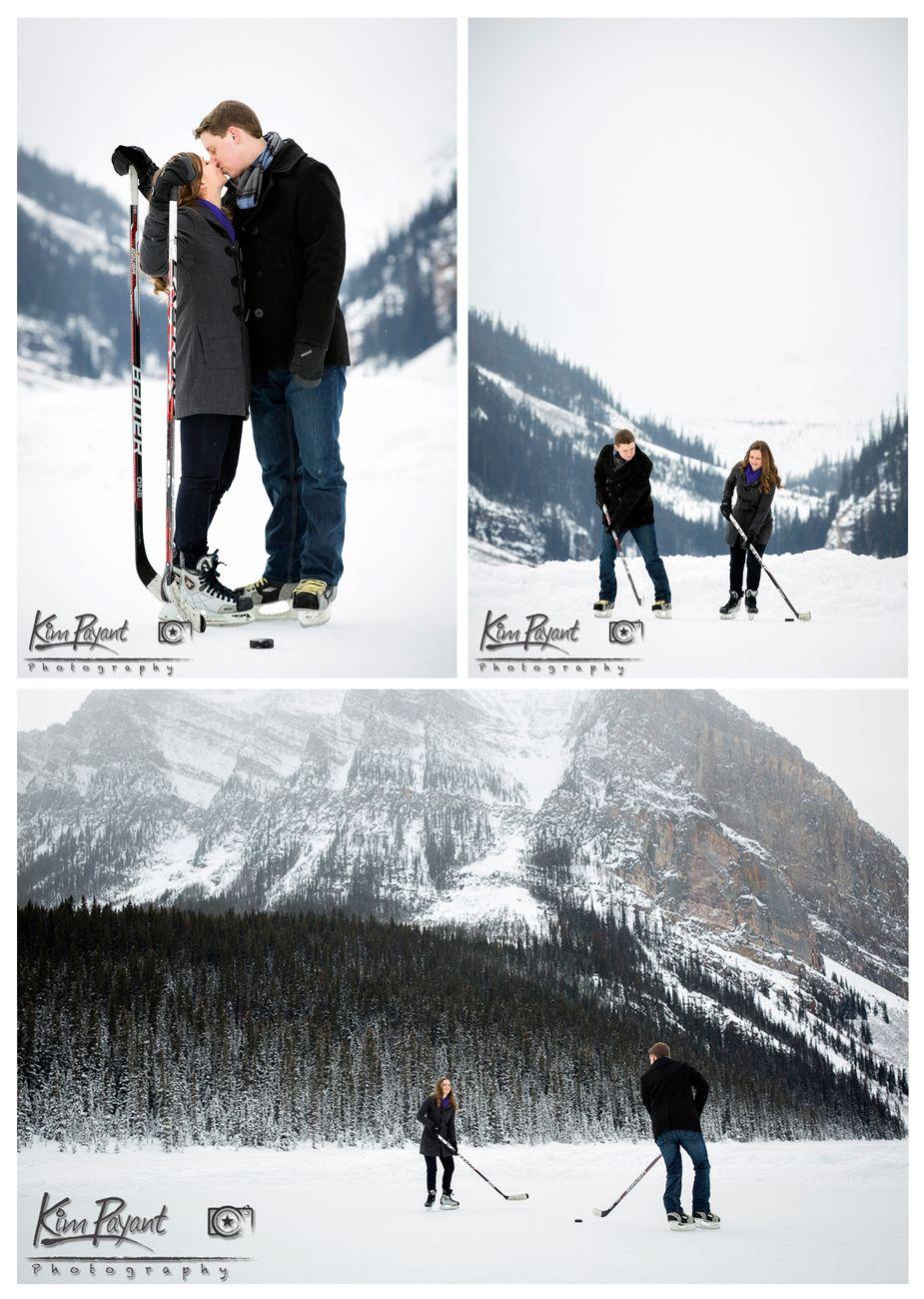 Banff/Lake Louise Winter engagement, lifestyle portraits,Outdoor ...