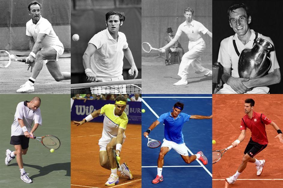 Los cuatro grandes  Djokovic entró en un exclusivo club que suma apenas  ocho… 8f8225aac4533