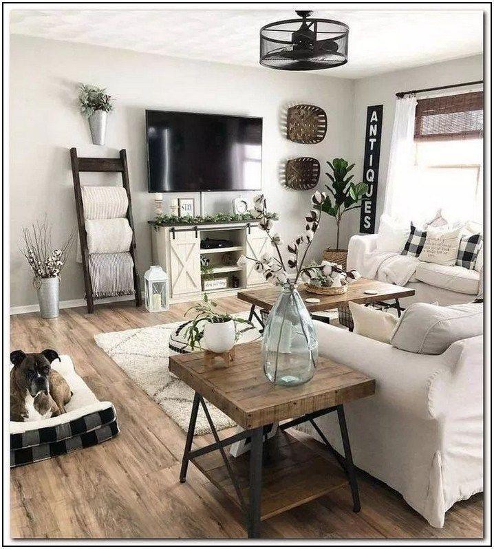 48 Cute Modern Farmhouse Living Room Decor Ideas Cute Decor Dec In 2020 Modern Farmhouse Living Room Decor Farmhouse Decor Living Room Small Space Living Room #small #farmhouse #living #room #ideas
