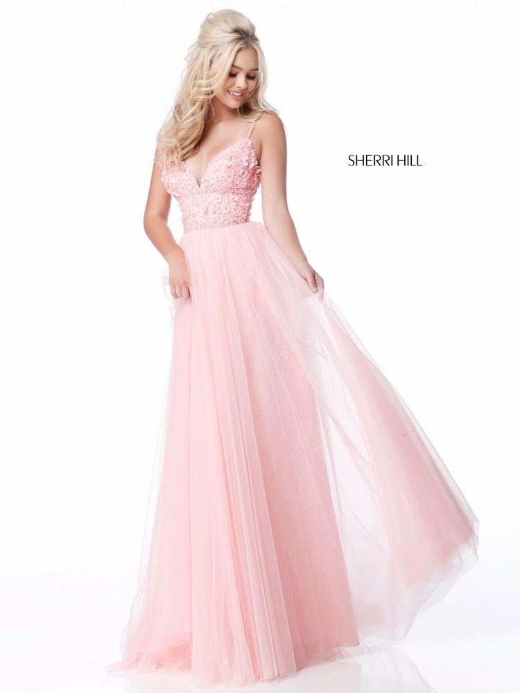 7e17ad0480ee1 Sexy Patchwork V Neck Evening Dresses. SHERRI HILL 51866