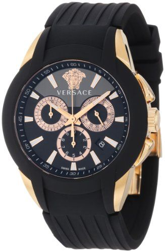 2d258c77c97 Versace Men s M8C80D008 S009 Character Rose Gold Ion-Plated Stainless Steel Chronograph  Date Watch