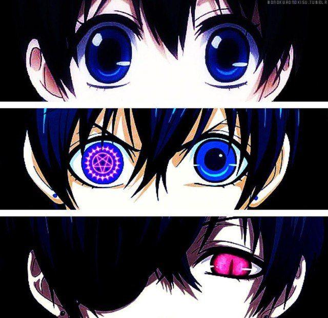 Глаза сиэля картинки