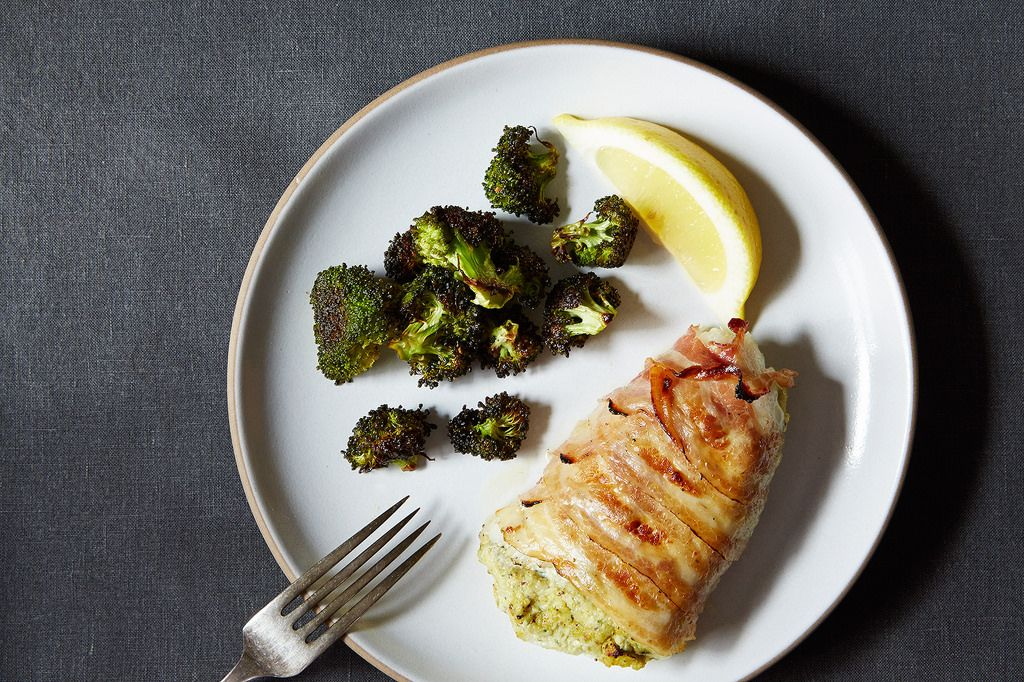 Pancetta wrapped barbecued prawns - Recipes - delicious.com.au |Pancetta Wrapped Halibut