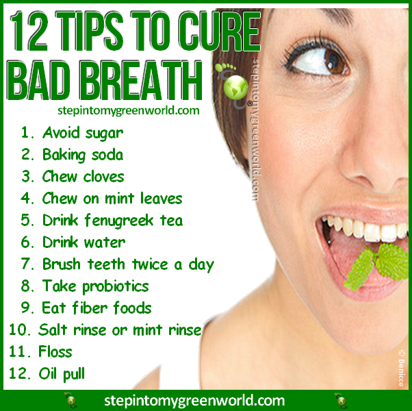 Clean Breath Bad Breath Cure Bad Breath Prevent Bad Breath