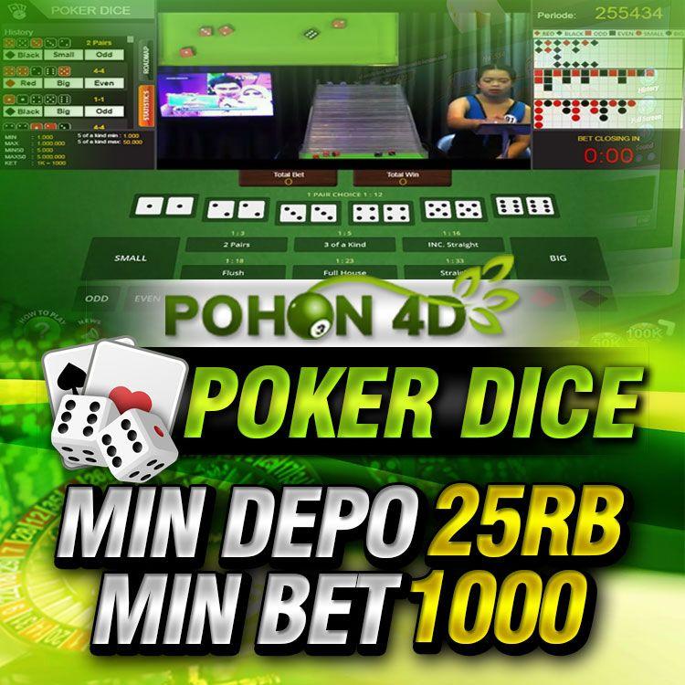Live Casino Online Poker Dice Pohon4d Poker Aplikasi Hubungan
