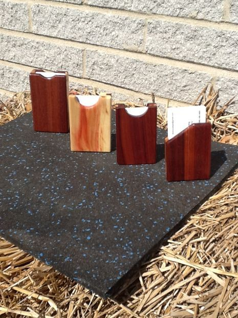 Business Card Holder Woodworking Plans